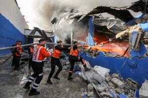 După atacarea clădirii din Gaza în care funcţionau companii media - SUA cer explicaţii Israelului