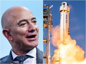 Petiţie ca Jeff Bezos să nu se mai întoarcă pe Pământ - Peste 76.000 de semnături