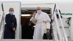 """Papa Francisc într-o vizită istorică în Irak -""""Voi toți sunteți frați"""""""