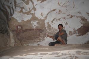 Descoperire într-o peşteră din Indonezia - Cea mai veche pictură rupestră