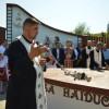 Inaugurare în comuna Săcel, Maramureş - Masa haiducului Pintea