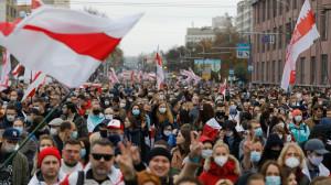 Greve în Belarus pentru răsturnarea dictatorului Lukaşenko - Totul pentru libertate